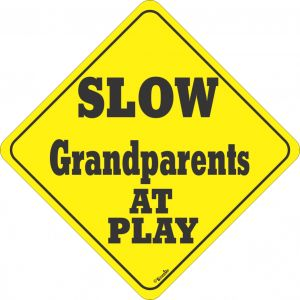 Grand Parents At Play