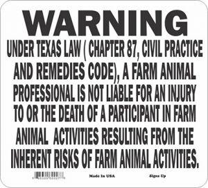 Texas Equine / Farm Animal